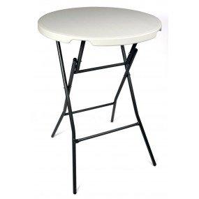 Tavolo pieghevole rotondo, diametro 80 cm, altezza 110 cm, tavolo9