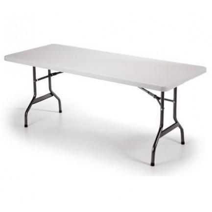 Tavolo pieghevole in polietilene resinato 184 x 76 x 72   tavolo6