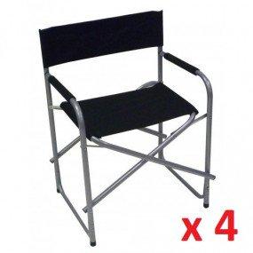 Sedia regista pieghevole n.4 pezzi sedia6