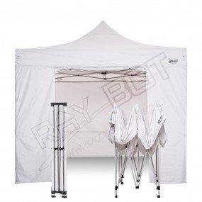 Gazebo Pieghevole 2x3 bianco RAY BOT + 4 teli laterali PVC 350g 2x3RW